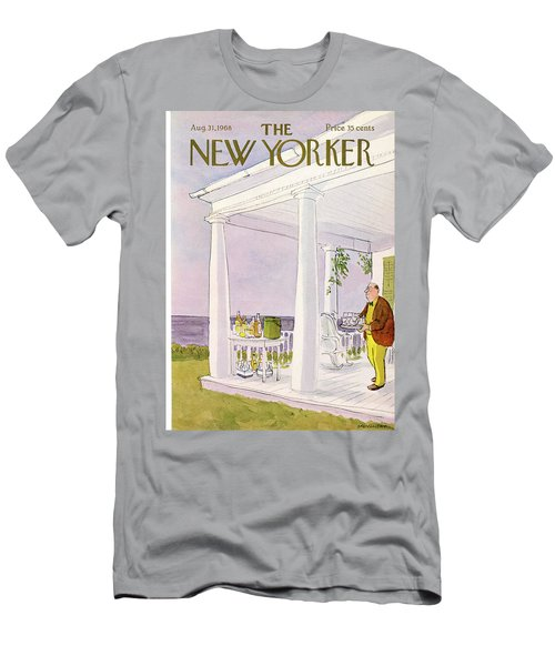 New Yorker August 31st, 1968 Men's T-Shirt (Athletic Fit)