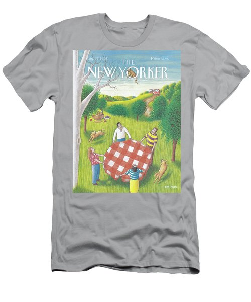 New Yorker August 31st, 1992 Men's T-Shirt (Athletic Fit)