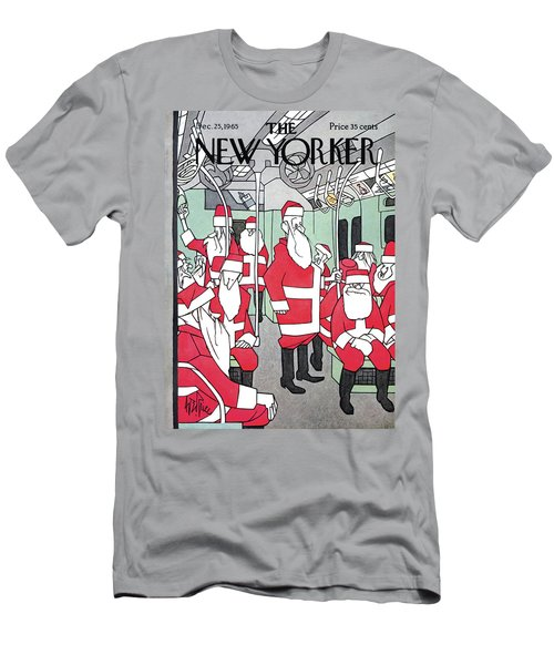 New Yorker December 25th, 1965 Men's T-Shirt (Athletic Fit)