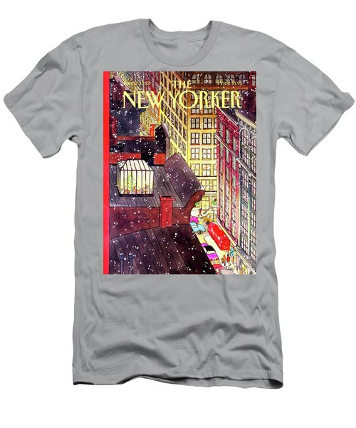 New Yorker December 7th, 1992 Men's T-Shirt (Athletic Fit)