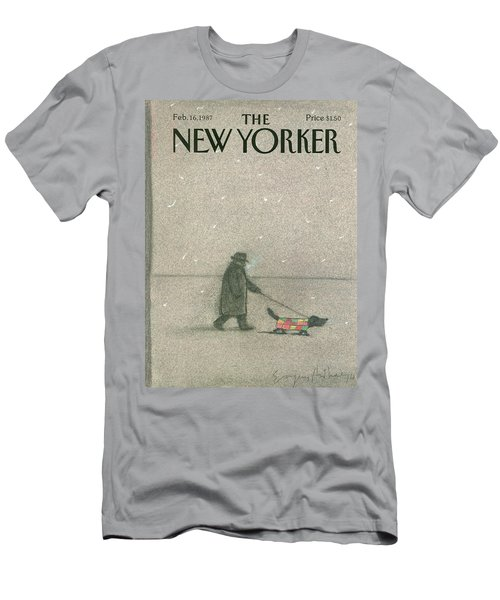New Yorker February 16th, 1987 Men's T-Shirt (Athletic Fit)