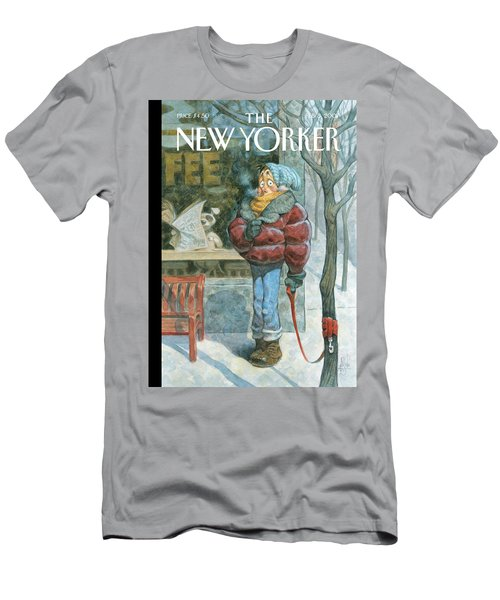 New Yorker February 5th, 2007 Men's T-Shirt (Athletic Fit)