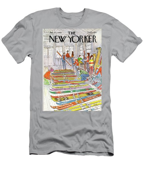 New Yorker January 21st, 1980 Men's T-Shirt (Athletic Fit)