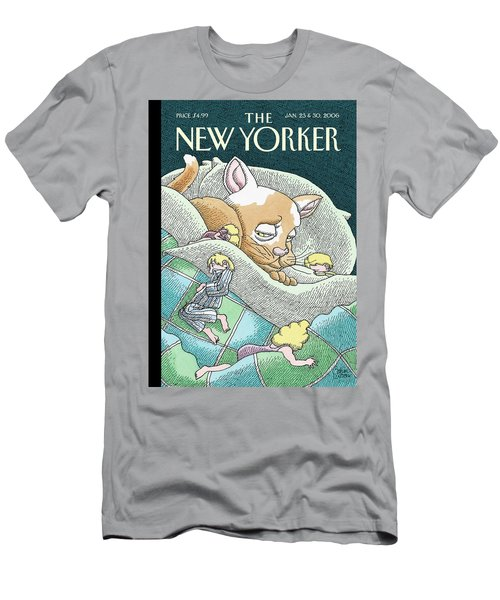 New Yorker January 23rd, 2006 Men's T-Shirt (Athletic Fit)