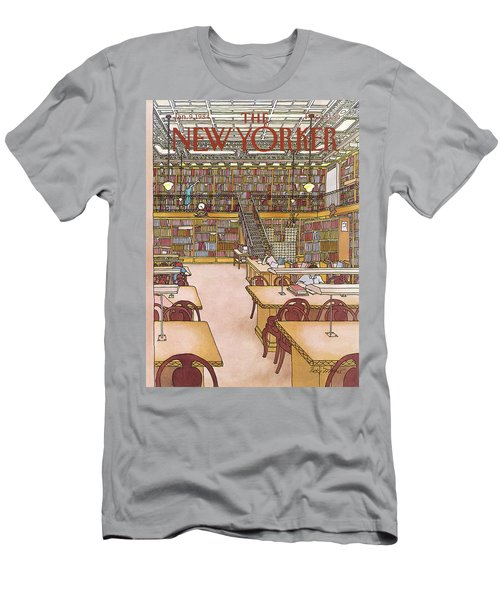 New Yorker January 9th, 1984 Men's T-Shirt (Athletic Fit)
