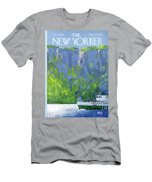 New Yorker July 12th, 1969 Men's T-Shirt (Athletic Fit)