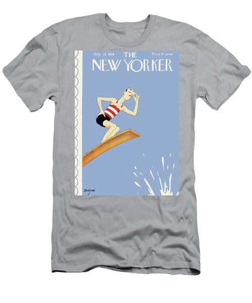 New Yorker July 14 1928 Men's T-Shirt (Athletic Fit)