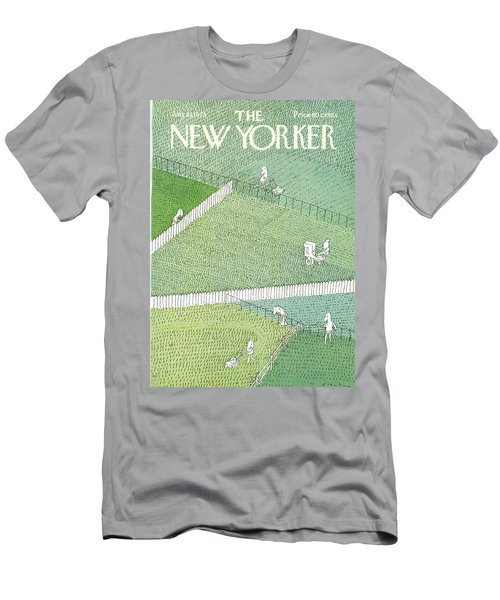 New Yorker July 21st, 1975 Men's T-Shirt (Athletic Fit)