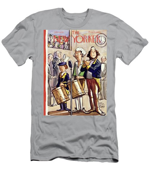 New Yorker July 4 1936 Men's T-Shirt (Athletic Fit)