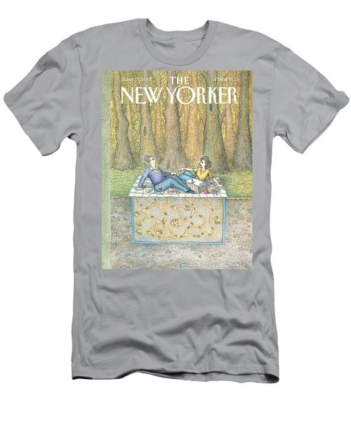 New Yorker June 15th, 1992 Men's T-Shirt (Athletic Fit)