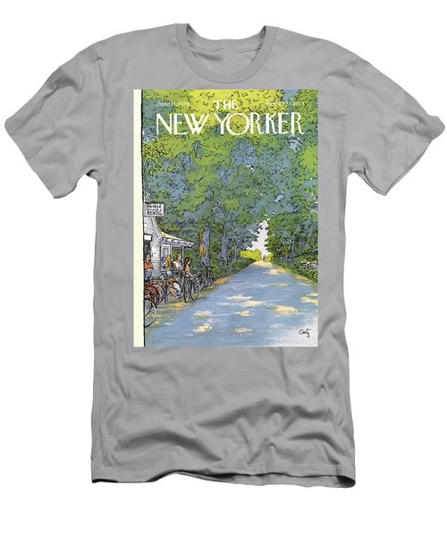 New Yorker June 21st, 1976 Men's T-Shirt (Athletic Fit)