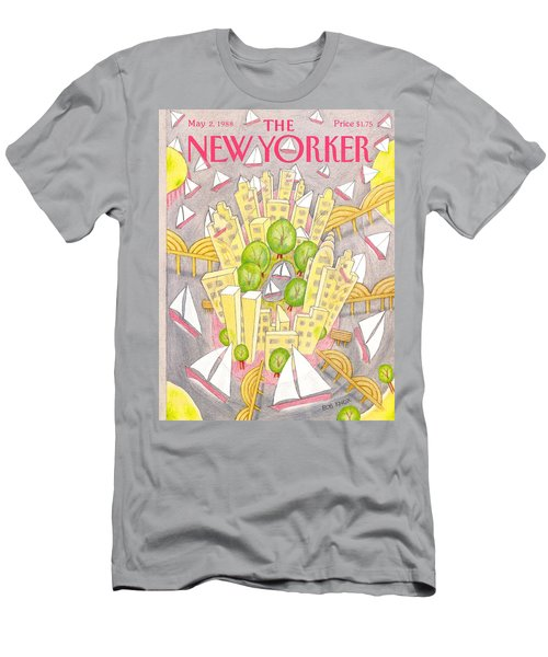 New Yorker May 2nd, 1988 Men's T-Shirt (Athletic Fit)