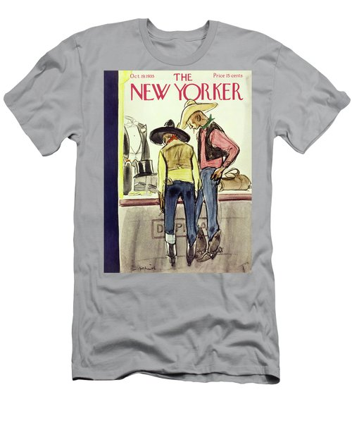 New Yorker October 19 1935 Men's T-Shirt (Athletic Fit)