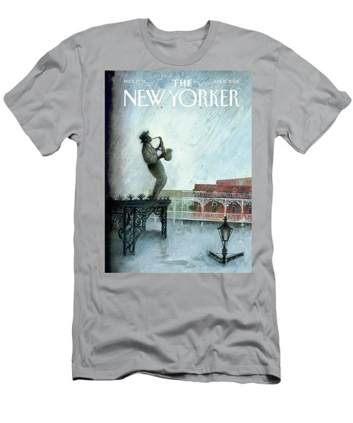New Yorker September 12th, 2005 Men's T-Shirt (Athletic Fit)