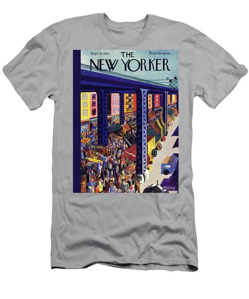 New Yorker September 21 1935 Men's T-Shirt (Athletic Fit)