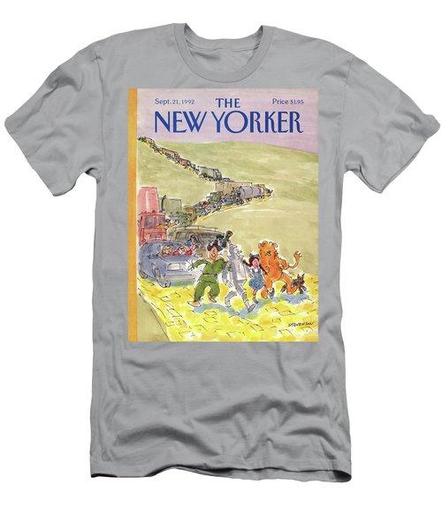 New Yorker September 21st, 1992 Men's T-Shirt (Athletic Fit)