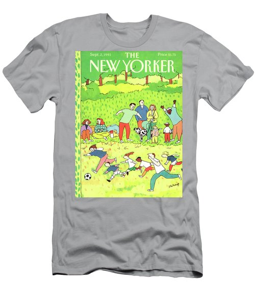New Yorker September 2nd, 1991 Men's T-Shirt (Athletic Fit)