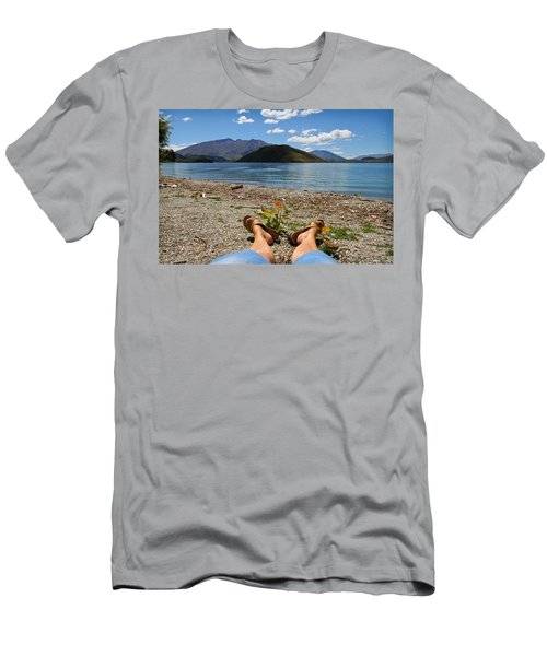 New Zealand Christmas Men's T-Shirt (Athletic Fit)