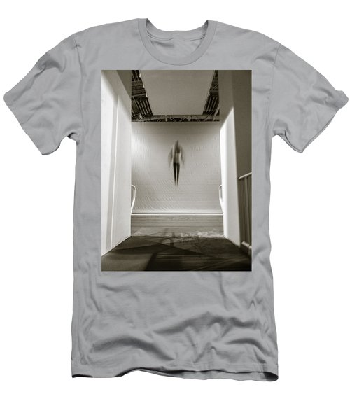 Men's T-Shirt (Slim Fit) featuring the photograph Newton's First Law by Alex Lapidus