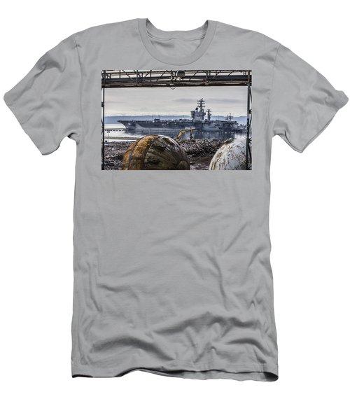 Nimitz - Port Of Everett Men's T-Shirt (Athletic Fit)