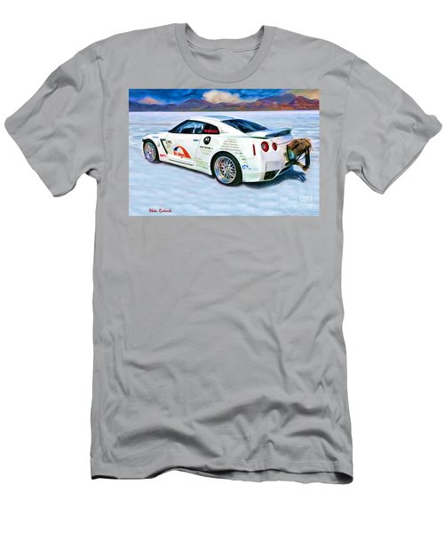 Nissan Salt Flats Men's T-Shirt (Athletic Fit)