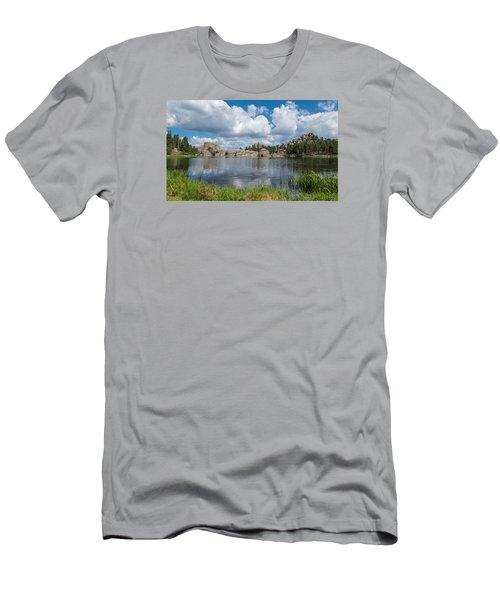 Sylvan Lake South Dakota Men's T-Shirt (Slim Fit) by Patti Deters