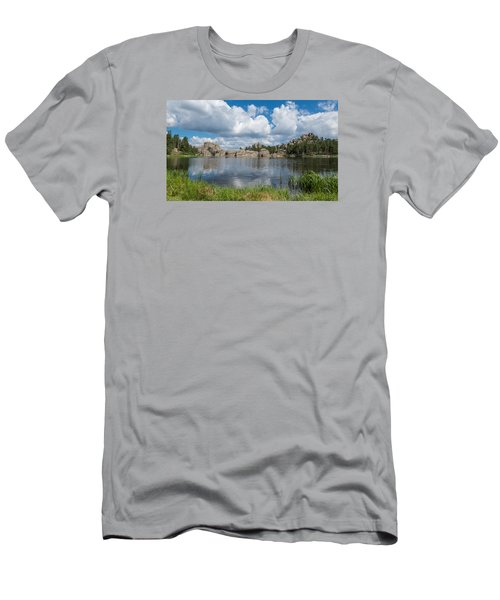 Sylvan Lake South Dakota Men's T-Shirt (Athletic Fit)