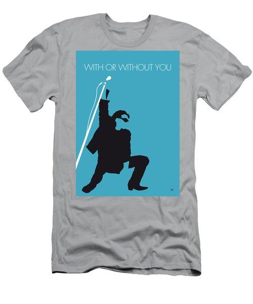 No035 My U2 Minimal Music Poster Men's T-Shirt (Athletic Fit)
