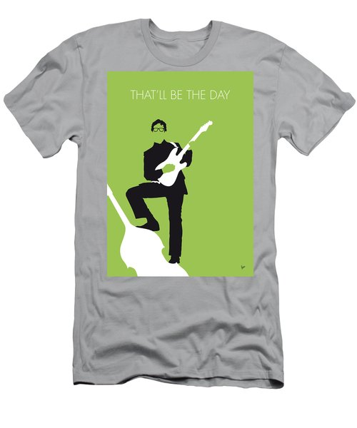 No056 My Buddy Holly Minimal Music Poster Men's T-Shirt (Athletic Fit)