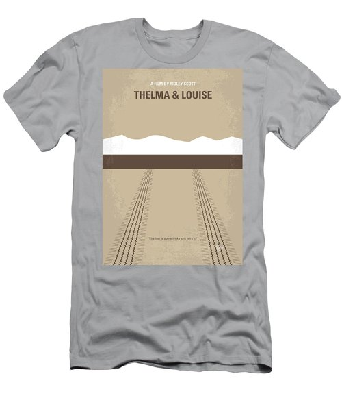 No189 My Thelma And Louise Minimal Movie Poster Men's T-Shirt (Athletic Fit)