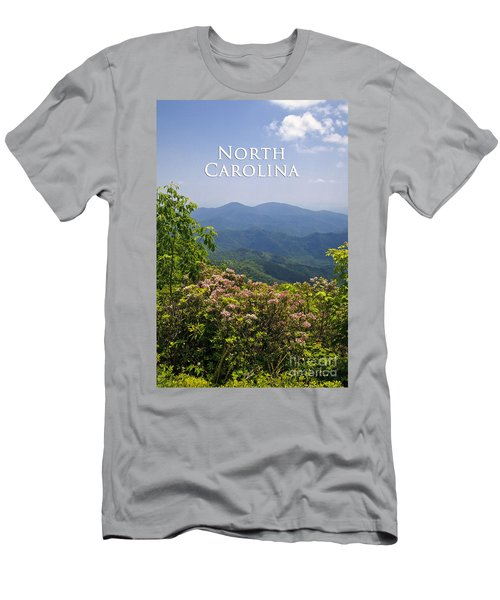 North Carolina Mountains Men's T-Shirt (Athletic Fit)