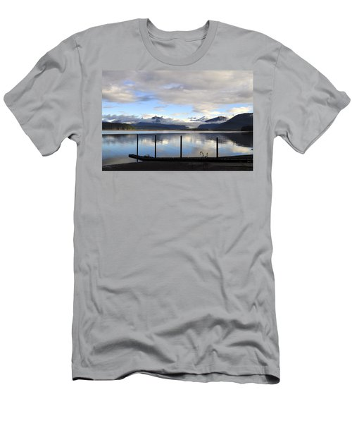 Men's T-Shirt (Slim Fit) featuring the photograph North Douglas Reflections by Cathy Mahnke