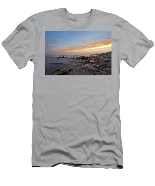 North Point Sunset Men's T-Shirt (Athletic Fit)