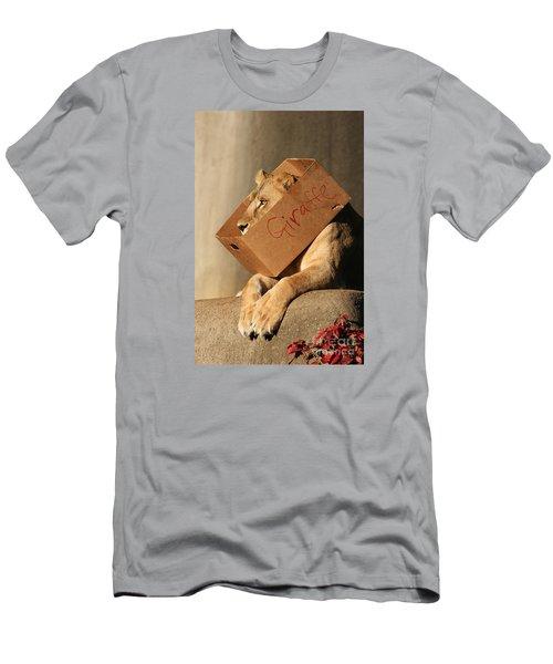 Not A Giraffe Men's T-Shirt (Athletic Fit)