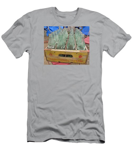 Men's T-Shirt (Slim Fit) featuring the photograph Nothing Like A Coke by Barbara McDevitt
