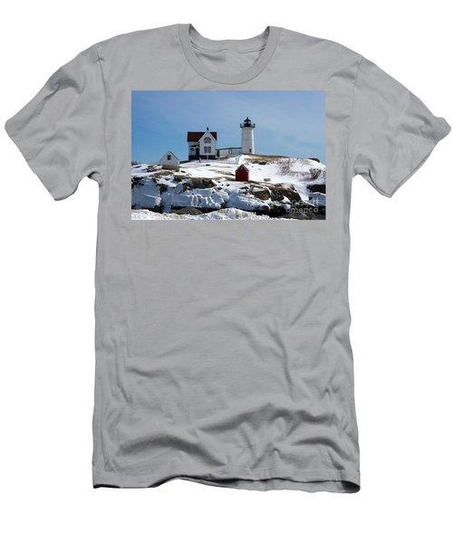Nubble Light 2 Men's T-Shirt (Athletic Fit)