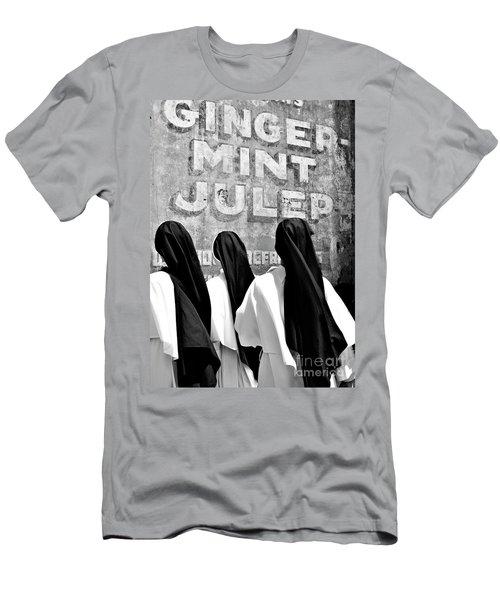 Nun Of That Men's T-Shirt (Slim Fit) by Kathleen K Parker