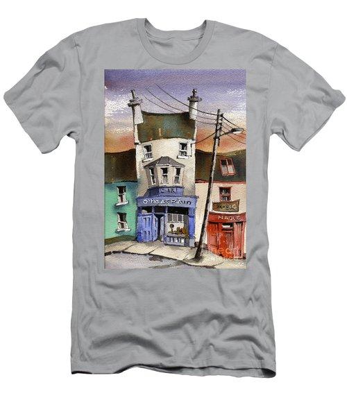 O Heagrain Pub Viewed 115737 Times Men's T-Shirt (Athletic Fit)