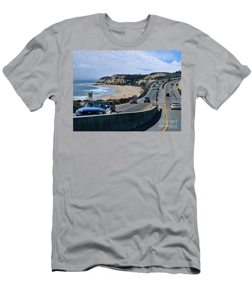 Oc On Pch In Ca Men's T-Shirt (Athletic Fit)