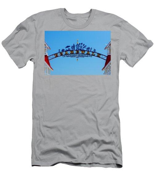Ocean City Boardwalk Arch Men's T-Shirt (Athletic Fit)