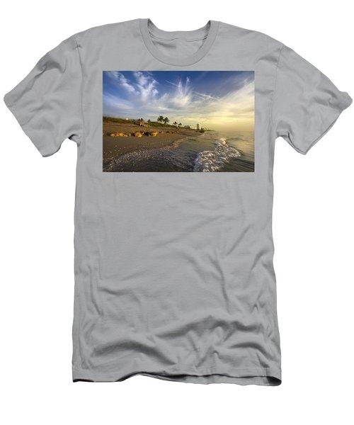 Ocean's Soft Light Men's T-Shirt (Athletic Fit)