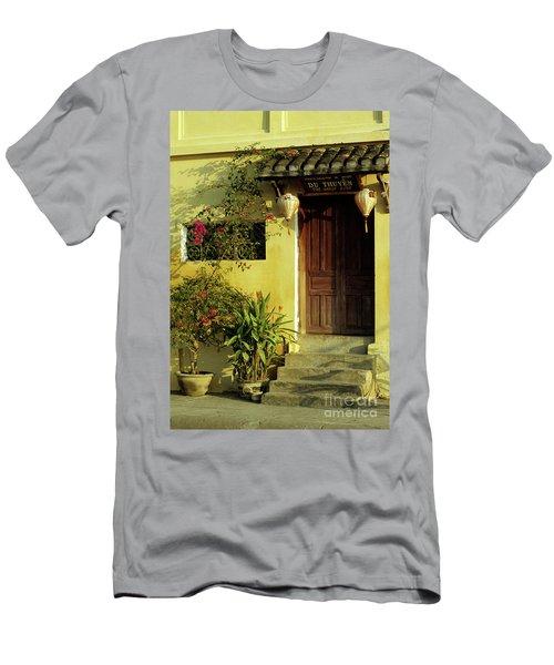 Ochre Wall 01 Men's T-Shirt (Athletic Fit)