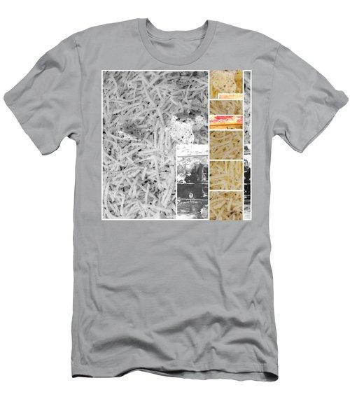 Men's T-Shirt (Slim Fit) featuring the photograph Odio Si Sta Sciogliendo by Sir Josef - Social Critic - ART