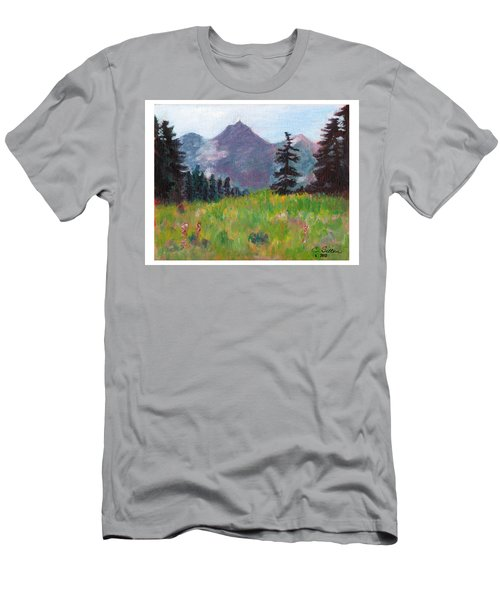 Off The Trail 2 Men's T-Shirt (Slim Fit) by C Sitton