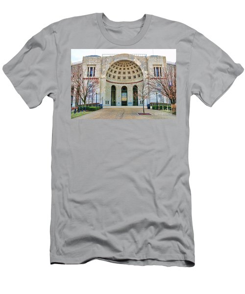 Ohio Stadium Main Entrance 1672 Men's T-Shirt (Athletic Fit)