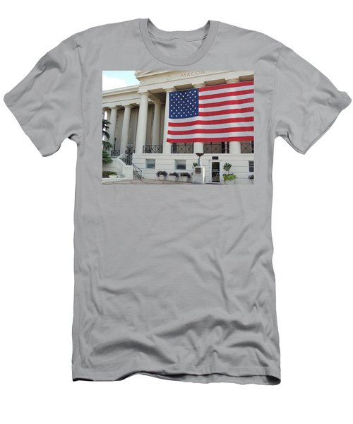 Ol' Glory Men's T-Shirt (Slim Fit) by Aaron Martens
