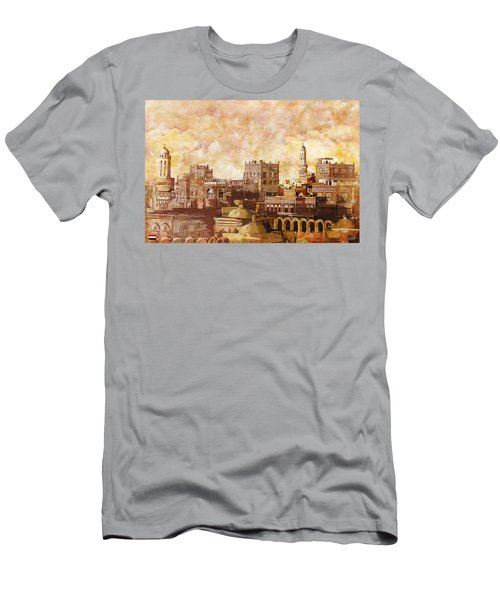 Old City Of Sanaa Men's T-Shirt (Athletic Fit)