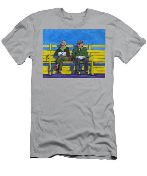 Old Couple Men's T-Shirt (Athletic Fit)