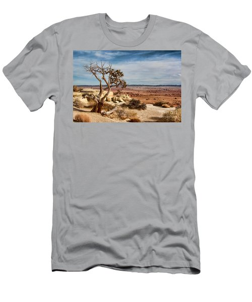 Old Desert Cypress Struggles To Survive Men's T-Shirt (Athletic Fit)