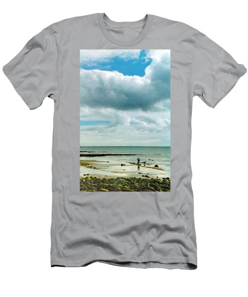 Old Friends Share A Beach Men's T-Shirt (Athletic Fit)